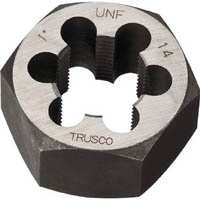 【CAINZ DASH】TRUSCO 六角サラエナットダイス UNF7/8−14
