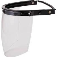 【CAINZ DASH】TRUSCO ヘルメット取付型防災面 簡単着脱タイプ