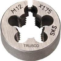 【CAINZ DASH】TRUSCO 丸ダイス 25径 M12X1.5 (SKS)
