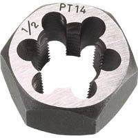 【CAINZ DASH】TRUSCO 六角サラエナットダイス PT7/8−14