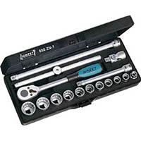 【CAINZ DASH】HAZET ソケットレンチセット(12角タイプ・差込角9.5mm)
