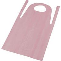 【CAINZ PRO】TRUSCO PE使い捨てエプロン50枚入 サイズフリー ピンク TAPEP
