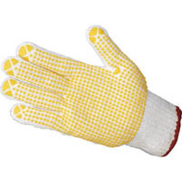 【CAINZ DASH】TRUSCO すべり止め手袋(片手) Sサイズ 右 (50枚入)