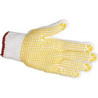 【CAINZ DASH】TRUSCO すべり止め手袋(片手) Sサイズ 左 (50枚入)