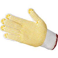 【CAINZ DASH】TRUSCO すべり止め手袋(片手) Mサイズ 右 (50枚入)