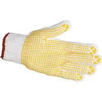 【CAINZ DASH】TRUSCO すべり止め手袋(片手) Mサイズ 左 (50枚入)