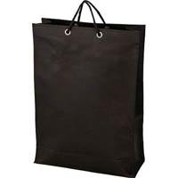 【CAINZ DASH】TRUSCO 不織布バッグ 黒 320×440×120MM (10枚入)