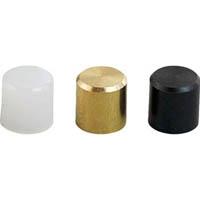 【CAINZ DASH】TRUSCO マイクロ・ハンマー用 替ヘッド 鉄平・真鍮・ナイロン 3個入