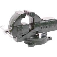 【CAINZ DASH】TRUSCO 強力アプライトバイス(回転台付タイプ) 125mm