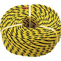 【CAINZ DASH】TRUSCO 標識ロープ 3つ打 7.5mm×10m