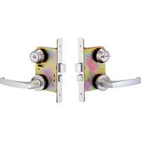 【CAINZ DASH】MIWA 木製ドア用レバーハンドル錠