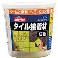 【CAINZ DASH】LOCTITE タイル接着材 灰色 500g
