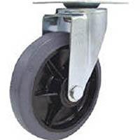 【CAINZ DASH】ユーエイ 産業用キャスター自在車 150径ゴム車輪