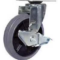 【CAINZ DASH】ユーエイ 産業用キャスターS付自在車 150径ゴム車輪