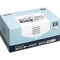 【CAINZ DASH】クレシア カウンタークロス 厚手タイプ ホワイト