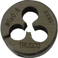 【CAINZ DASH】TRUSCO 丸ダイス 25径 M2.6X0.45 (SKS)