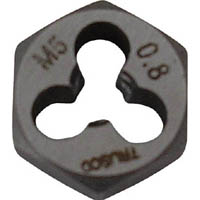 【CAINZ DASH】TRUSCO 六角サラエナットダイス W3/16−24