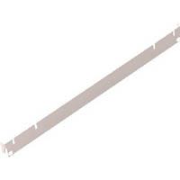 【CAINZ DASH】TRUSCO 軽量棚用側面ガイド D450用 ネオグレー