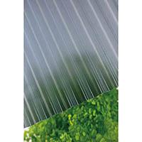 【CAINZ DASH】タキロン ポリカ波板熱線カット 32波 7尺 4550ブルースモークマット
