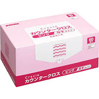 【CAINZ DASH】クレシア カウンタークロス 厚手タイプ ピンク
