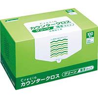 【CAINZ DASH】クレシア カウンタークロス 薄手タイプ グリーン