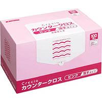 【CAINZ DASH】クレシア カウンタークロス 薄手タイプ ピンク