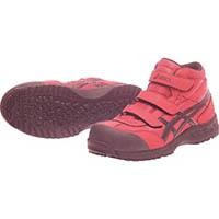 アシックス 作業用靴 ウィンジョブ42S レッドXブラック 25.0cm FIS42S.239025.0