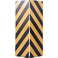 【CAINZ DASH】ワコー セーフティーガード黄色・黒色448mm×1440mm