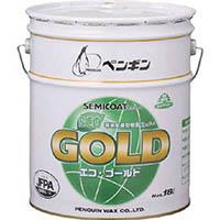 【CAINZ DASH】ペンギン セミコート エコゴールド  中性樹脂