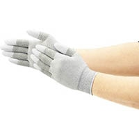 【CAINZ DASH】ショーワ まとめ買い 簡易包装制電ライントップ手袋10双入 Sサイズ