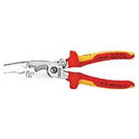 【CAINZ DASH】KNIPEX 1396−200 絶縁エレクトロプライヤー(スプリング付)