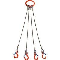 【CAINZ DASH】大洋 4本吊 ワイヤスリング 3.2t用×1m