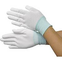 【CAINZ DASH】ブラストン PU手の平コートポリエステルニット手袋S  (10双入)