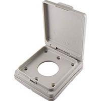 【CAINZ DASH】アメリカン電機 防水パネルリフトカバ− パネルコンセント用 小穴