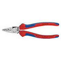 【CAINZ DASH】KNIPEX 9772−180 エンドスリーブ用圧着ペンチ