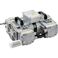 【CAINZ DASH】ULVAC 三相200−230V 揺動ピストン型ドライ真空ポンプ