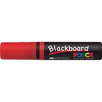 【CAINZ DASH】uni 水性顔料マーカー ブラックボードポスカ 極太 赤