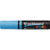 【CAINZ DASH】uni 水性顔料マーカー ブラックボードポスカ 極太 水色