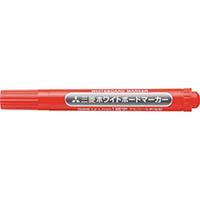 【CAINZ DASH】uni 三菱鉛筆/ホワイトボードマーカー/細字/赤
