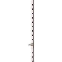 【CAINZ DASH】スガツネ工業 アルミ製棚柱 掘込仕様APーDH2600(120ー030ー089)