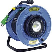【CAINZ DASH】日動 防雨・防塵型LEDライトリール 漏電保護専用遮だん器付