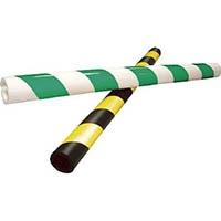 【CAINZ DASH】アラオ パイプガード(反射式)緑/白