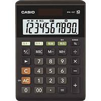 カシオ 10桁電卓 MW-100T-BK-N