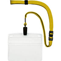 【CAINZ DASH】OP 吊下げ名札 特大サイズ 10枚 黄