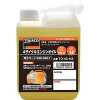 【CAINZ DASH】TRUSCO 4サイクルエンジンオイル1L 粘度10W−30