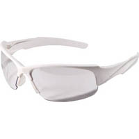 【CAINZ DASH】TRUSCO 二眼型セーフティグラス ホワイト