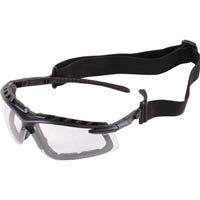 【CAINZ DASH】TRUSCO 二眼型セーフティグラス (ゴーグル兼用タイプ)