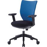 【CAINZ DASH】アイリスチトセ 回転椅子3DA 可動肘