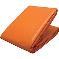 【CAINZ DASH】ユタカメイク シート #3000オレンジシート 1.8m×2.7m オレンジ