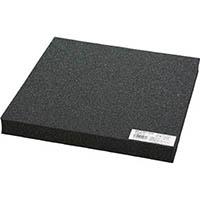 低反発ウレタン黒 30ミリ×300×300